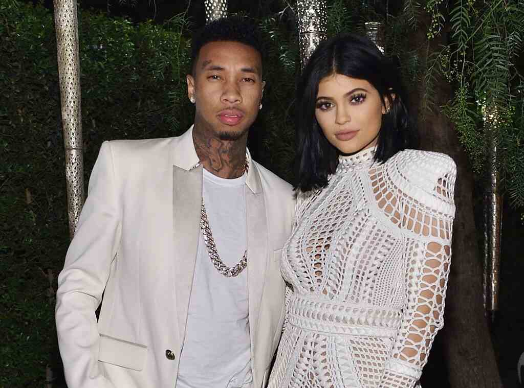 Tygo with Kylie Jenner