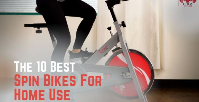Spin Bikes for Home Use