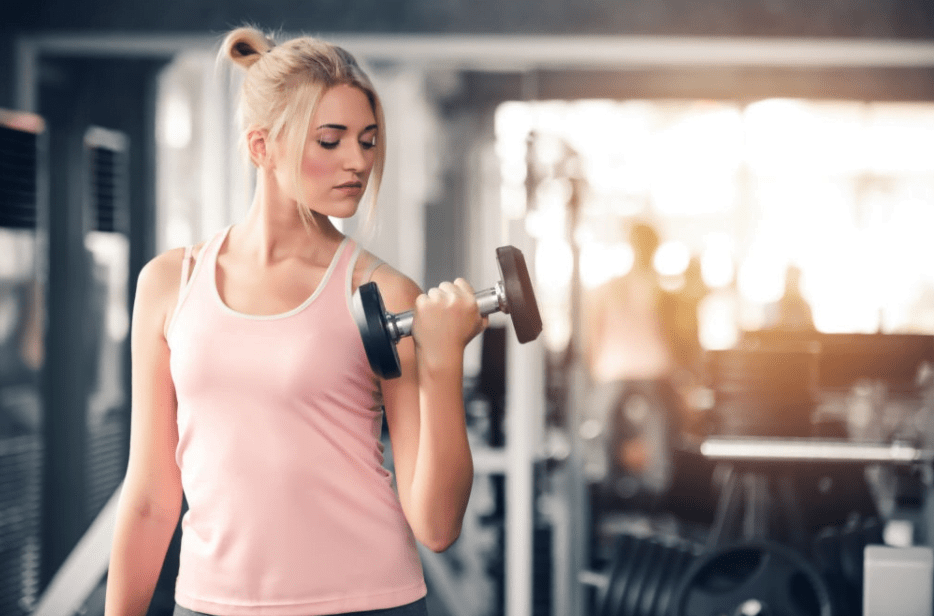 Lift Weight Slowly to Build Muscle and Burn Calories