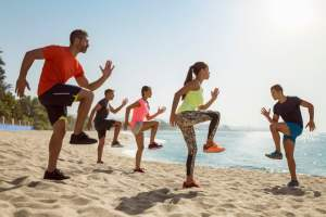 How to Train on the Beach This Vacation