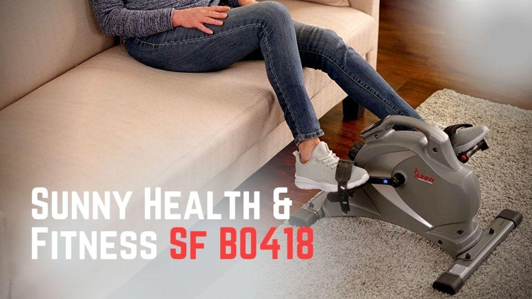 Sunny Health & Fitness Sf B0418 Magnetic Mini Exercise Bike