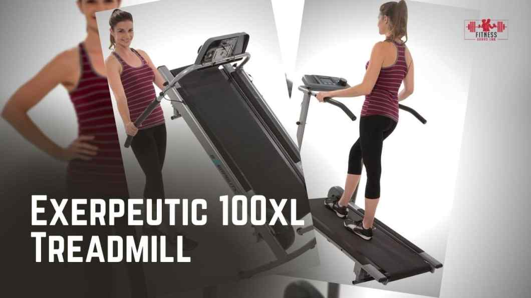 Exerpeutic 100xl Treadmill Reviews