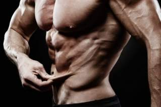 Decrease water retention to increase vascularity