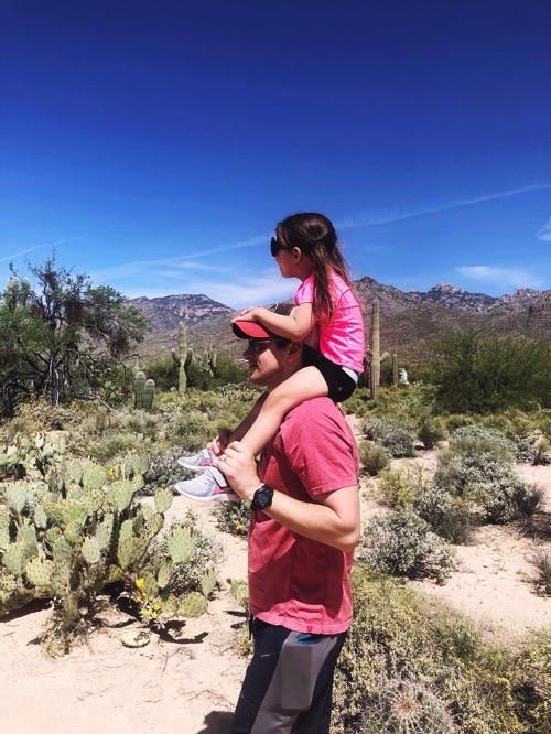 Sabino canyon walk