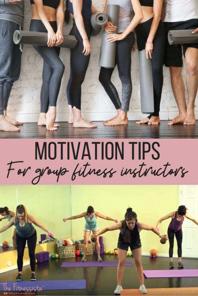 motivaion tips for group fitness instructors 1 - HEALTH AND FITNESS