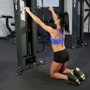 Kneeling Lat Pulldown - Back Exercise