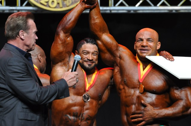 Arnold Classic Europe Bodybuilding champion 2017