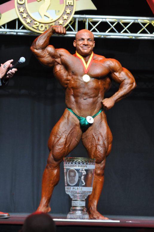 Чемпион Arnold Classic Europe Bodybuilding 2017