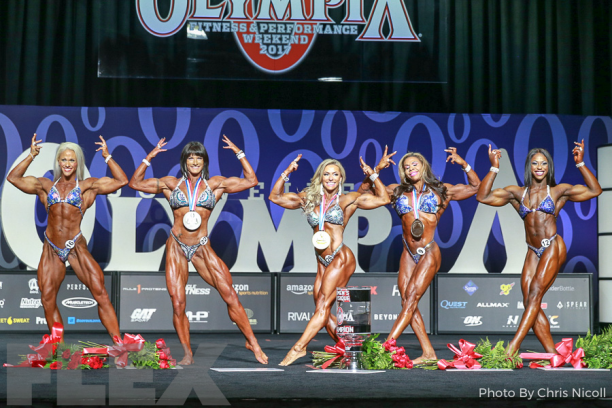 Women's Physique Olympia 2017 1