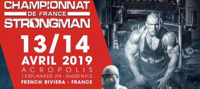 Championnat de France Strong Man Éric Favre Nice