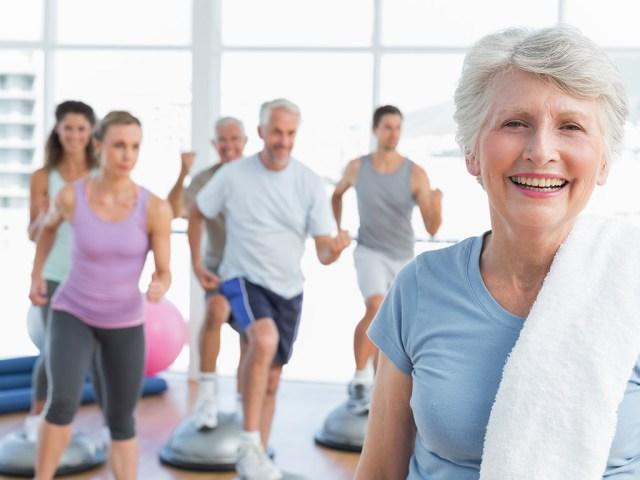 Les séniors et la musculation pour combattre l'ostéoporose