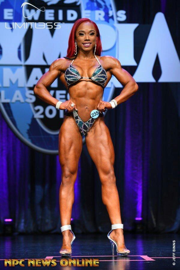 Vainqueur du classement général figure Olympia amateur Las Vegas 2019Brand hurd
