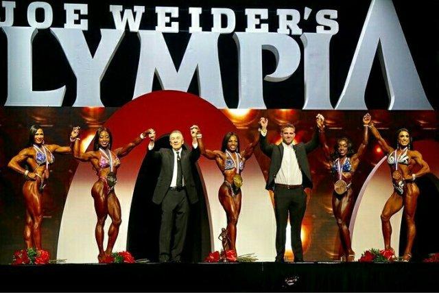 Finalistes de la catégorie Figure à Mr Olympia.
