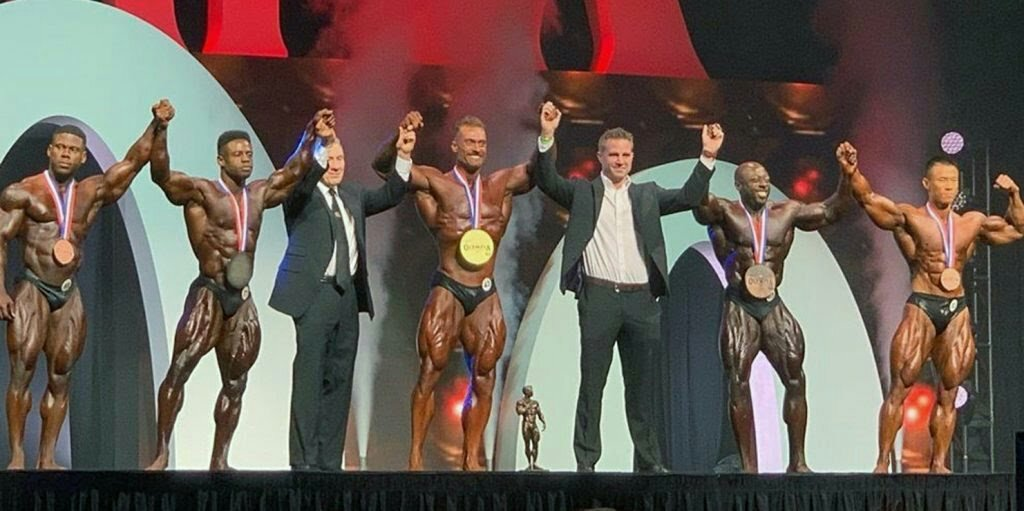 Finalistes de la catégorie Classic Physique à Mr Olympia.
