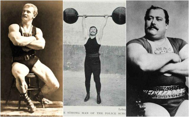 Les origines du strongman