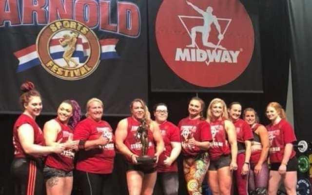 strongwomen à l'Arnold Classic