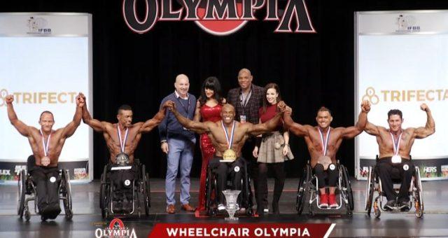 Finalistes de la catégorie wheelchair à Mr Olympia 2020