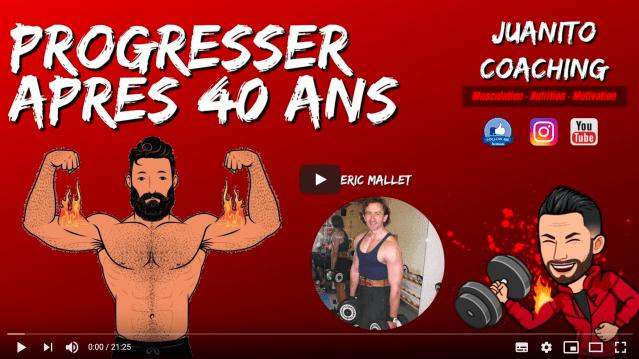 La musculation après 40 ans