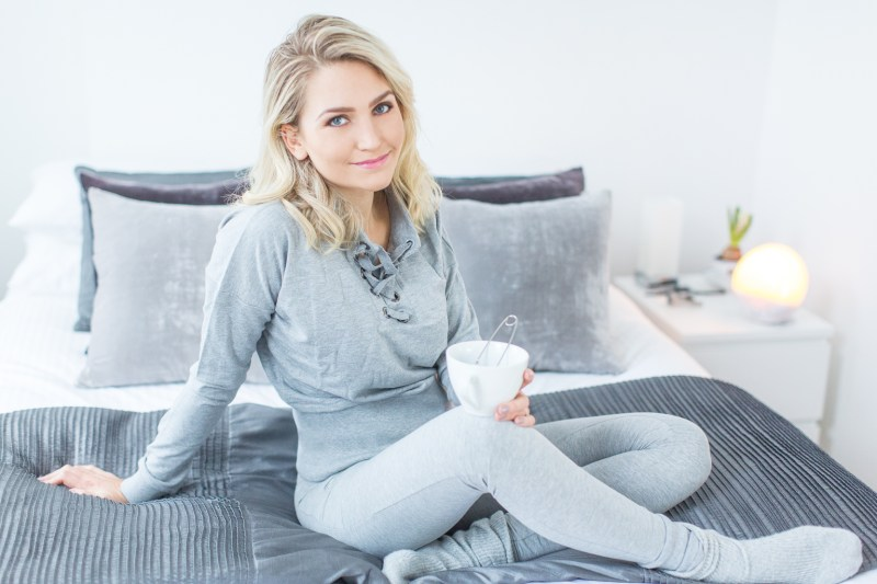 Faya Fitness On Toast Philips Light Wake Up Alarm Sunrise Light Therapy Fit Healthy Wellness Mood Sleep Importance Rest Training-4