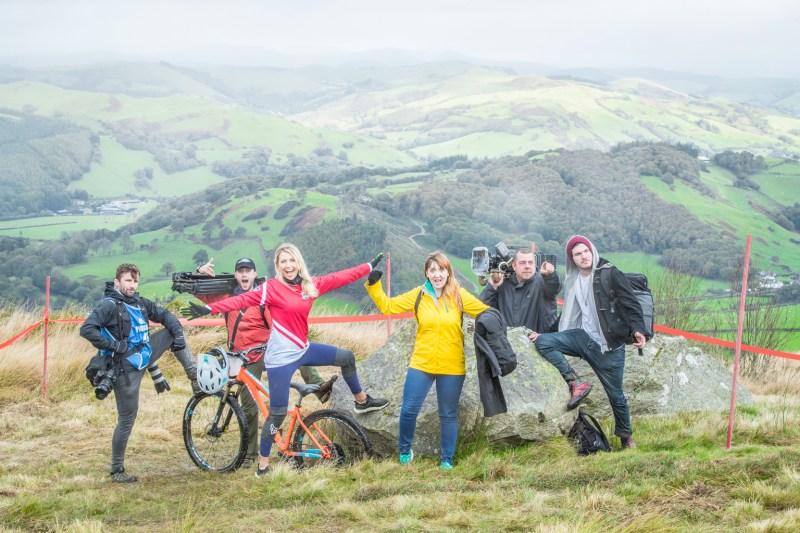 Faya - Fitness On Toast - Wales EE 4G Balloon Signal Bike Rural Apple Watch Adventure Cyclicing Downhill Mountain Bike Biking Workout Event-8