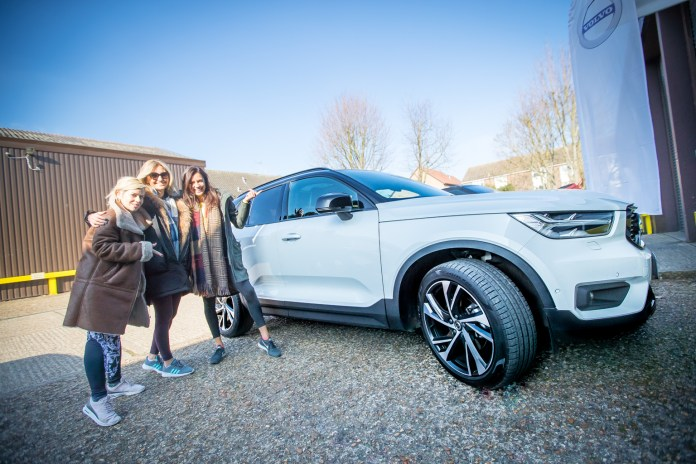Fitness On Toast - Volvo XC40 - The Grove Event-19