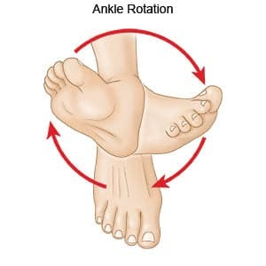 Demo of ankle circles