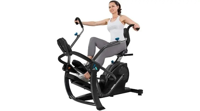 recumbent cross trainers