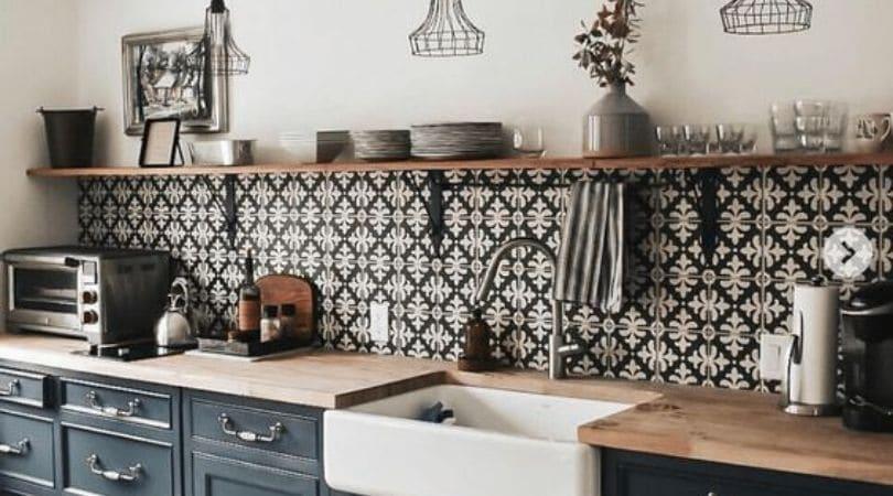 the kitchen layout
