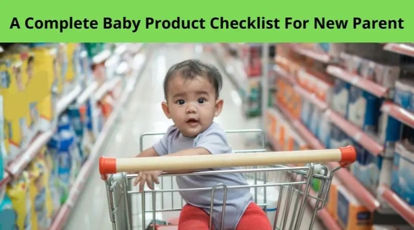 baby product checklist