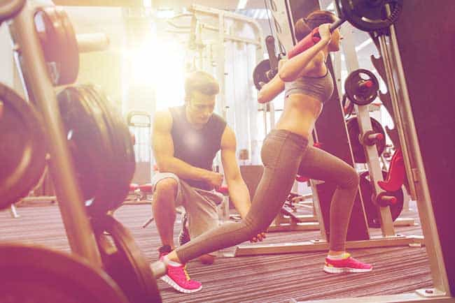Women can lift weight without fear of getting bulky muscles