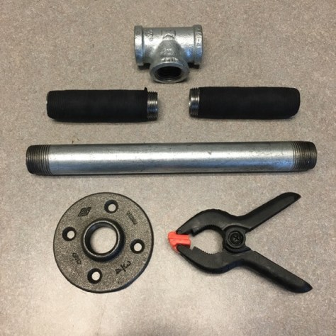 DIY kettlebell parts from Home Depot