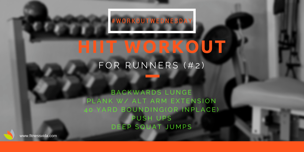 free worout hiit for runners #2 fitness vida