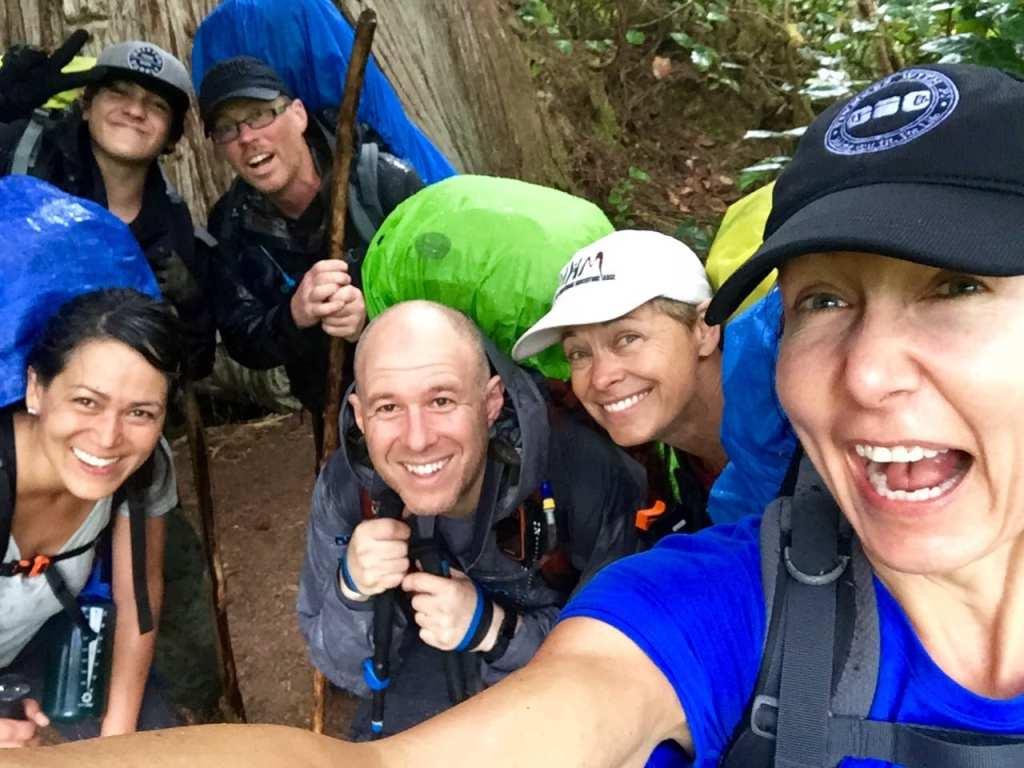 Selfie in West Coast Trail
