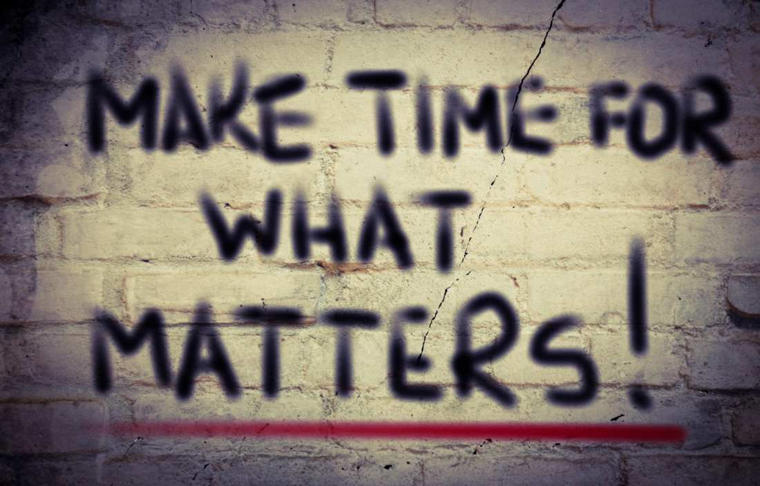 Make Time For What Matters - Fitness with PJ