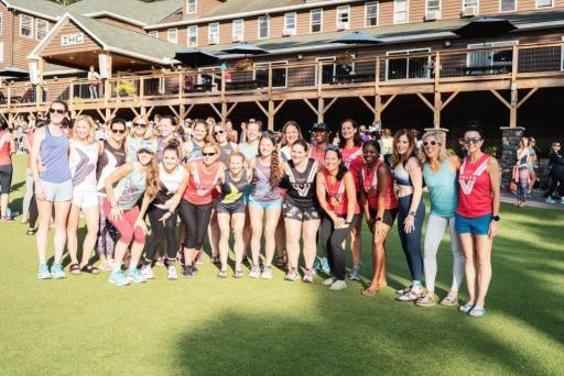 Group shot with all of the North Caroline Oiselle Volee team.