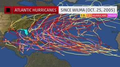 image of florida hurricanes since wilma