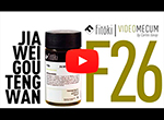 Videos de medicina china JIA WEI GOU TENG WAN