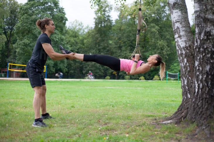 The best Christmas present for the fitness addict - personal training session