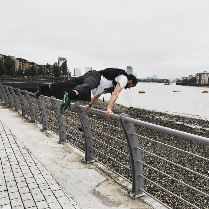 What exactly does calisthenics entail and is it the best way to stay fit on trip