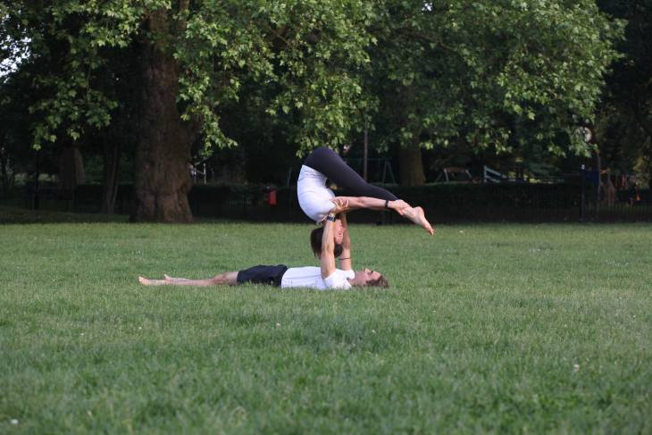 Top 10 unconventional fitness experiences - Acroyoga and Acrobalance