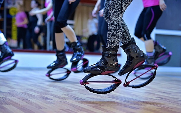 Top 10 unconventional fitness experiences_Kangoo jump class