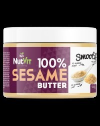 NutVit 100  sesame butter smooth 500g 535f1fa