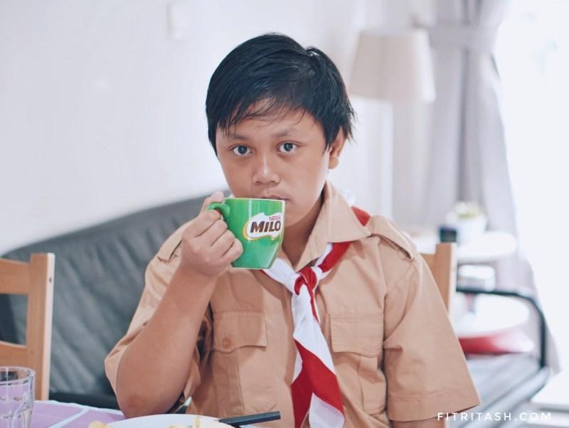 Pentingnya Sarapan Bergizi dan Segelas Milo Baru untuk Anak Sekolah yang Aktif