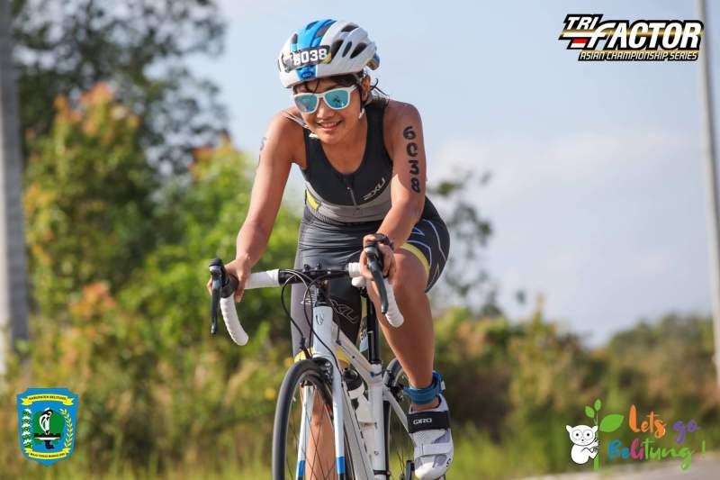 Menjajal Triathlon di Belitung