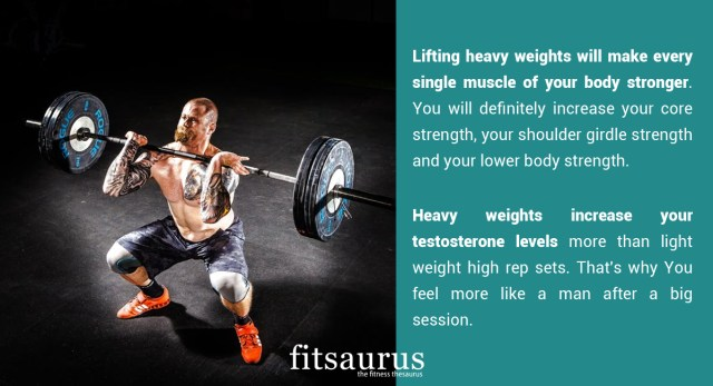 Why Should You Lift Heavier Weights