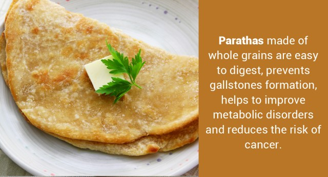 How Many Calories Are There in a Paratha & Does It Have Any Health Benefits?