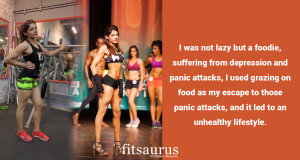 Musclemania Champ & Miss Bengaluru Physique Shruti Kerni Interviews with Fitsaurus
