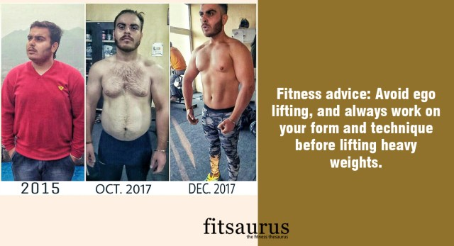 Fitness Story: Living in a Small Town with Limited Facilities, Shubham Worked His Way to Achieve a Good Physique