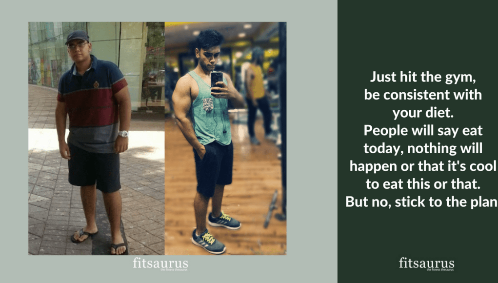 Fitness Story: Losing 44 kgs, Mohit took it upon Himself to Achieve this Amazing Transformation