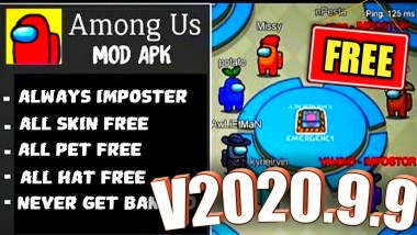 Download Among Us Mod APK 2020.9.9